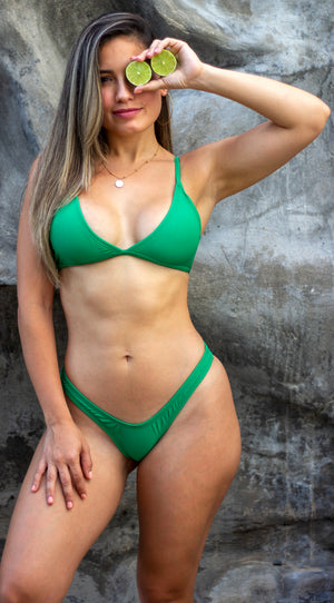 Into the Green Bikini Set