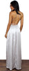 Essence of Style Silver Maxi Dress