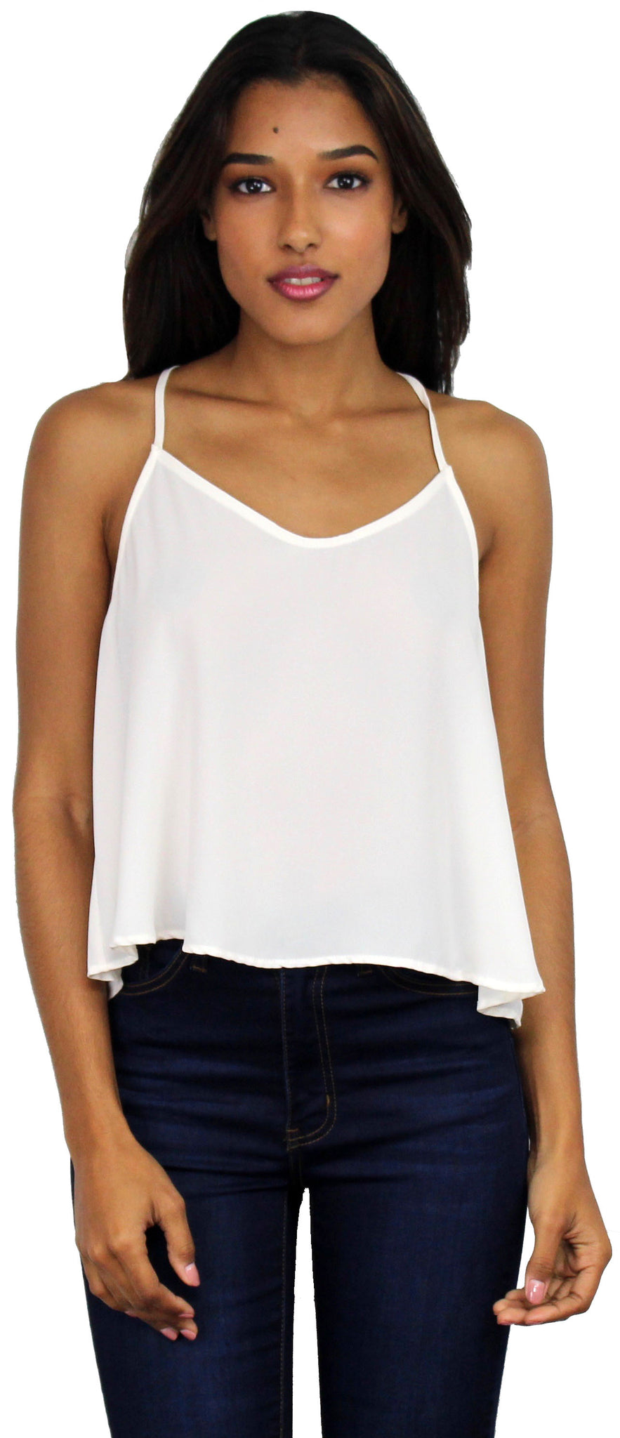Lovely Nude Basic Top