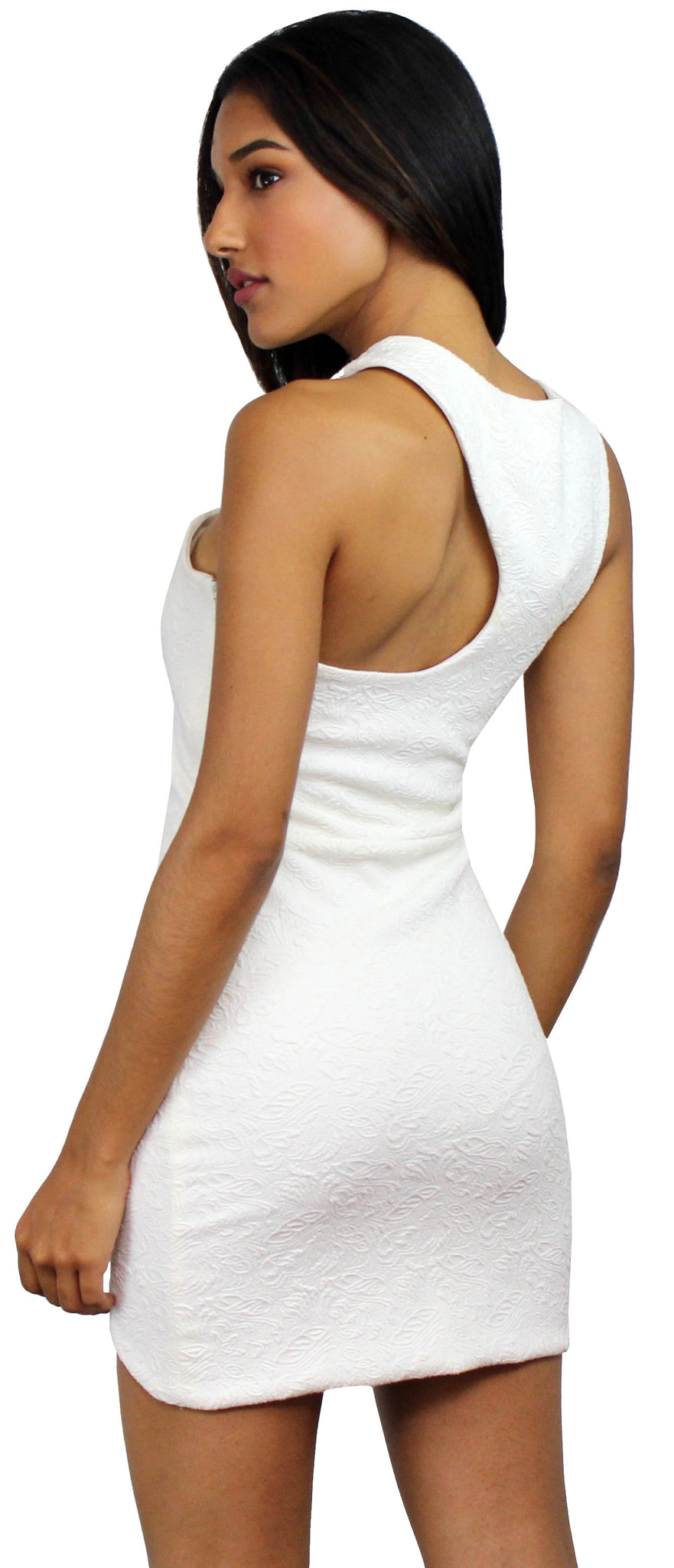 Watch This Ivory OneShoulder Dress
