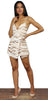 Pick of the Glitter Nude Sequins Romper