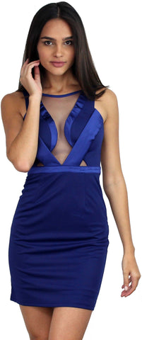 Heartbeat Song Royal Blue Cocktail Dress