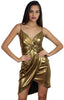 Golden Girl Metallic Gold Dress