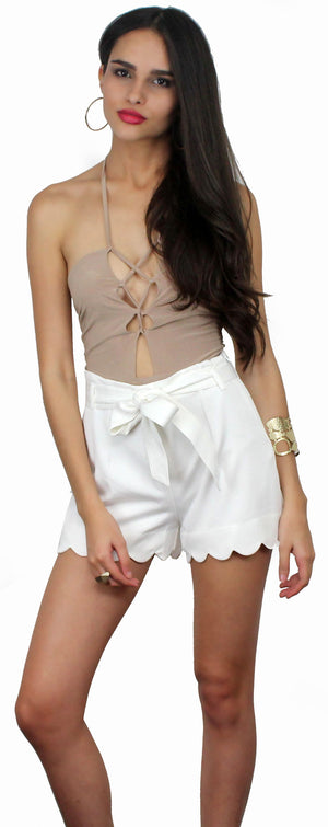 Weekend Hobby White Shorts