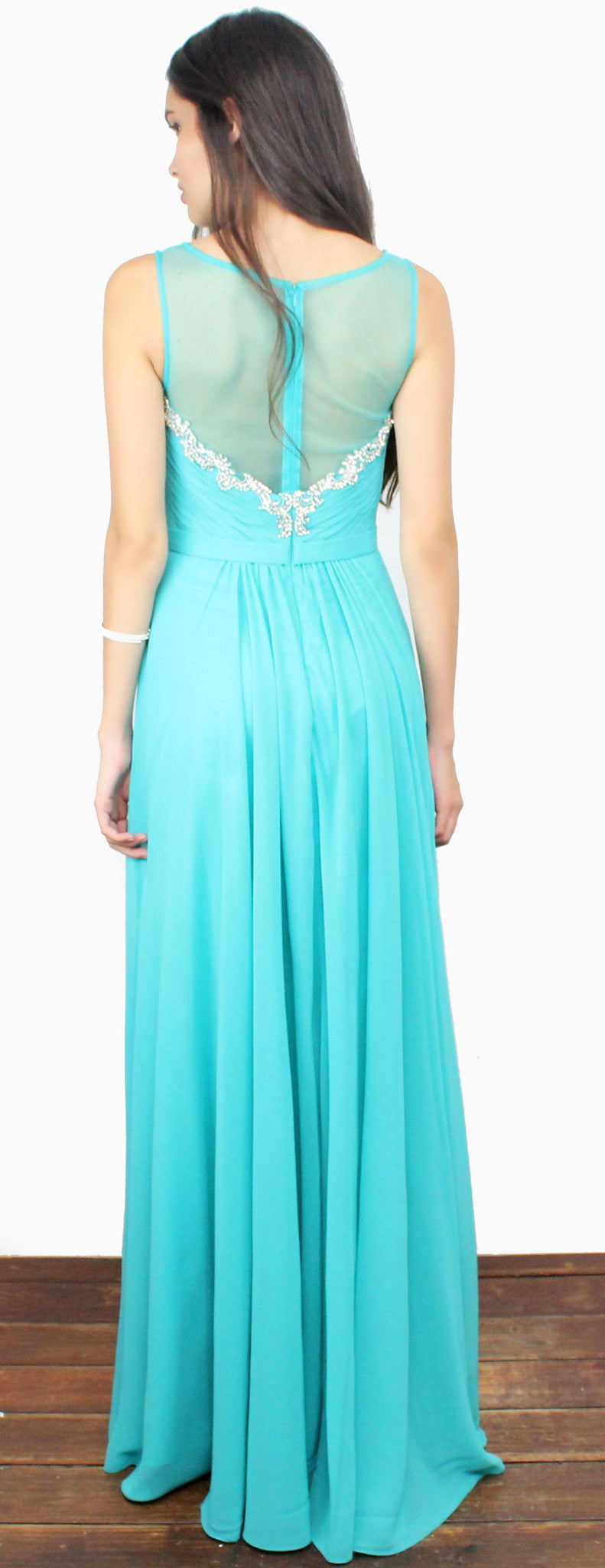 Everlasting Enchantment Teal Gown