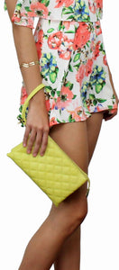 Bali Mood Yellow Clutch