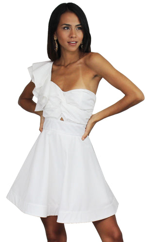 Forevermore White Fit & Flare Dress