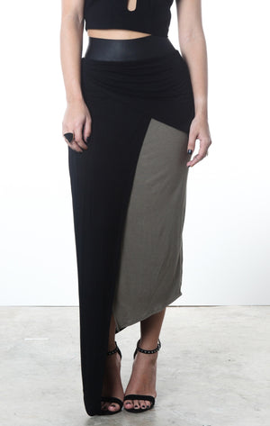 Asymmetrical Max Skirt