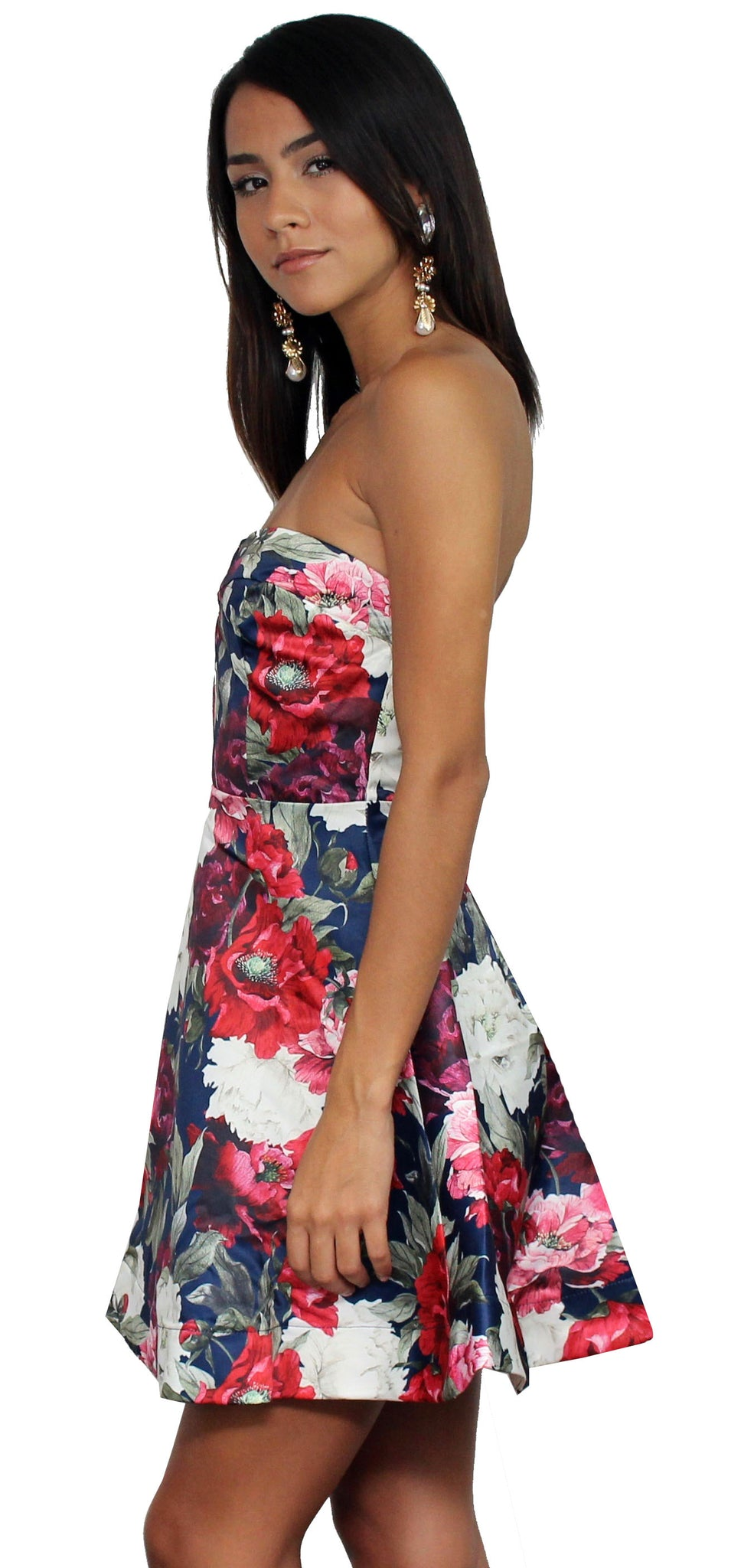 Blossoming Beauty Navy Floral Dress