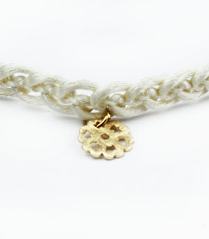Sweet Melody Cream Choker Necklace
