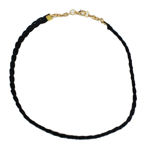 Prowess Braided Choker Necklace