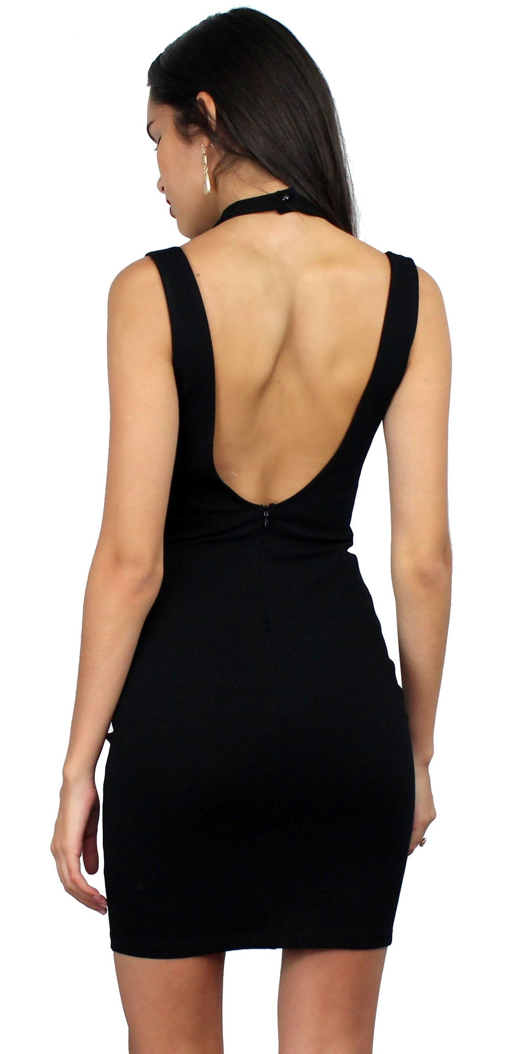 Swoon-er or Later Black Bodycon Dress