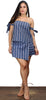 Faithfull the Stripes Blue Two-Piece Set