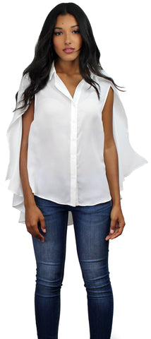 Essential Cape White Top
