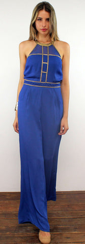 Advanced Degree Blue Jumpsuit