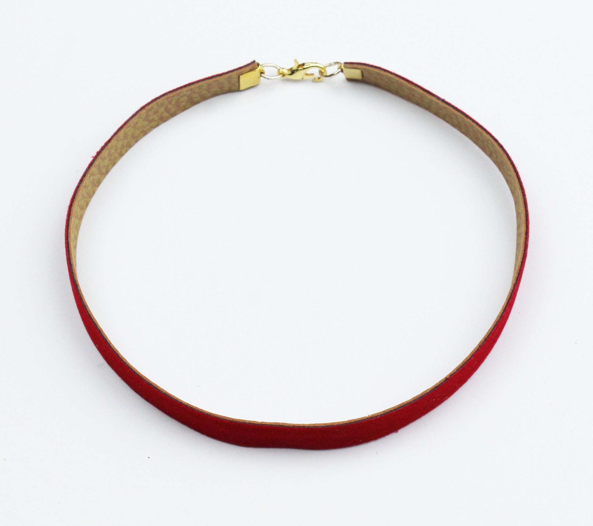 One Moment in Time Velvet Choker Necklace