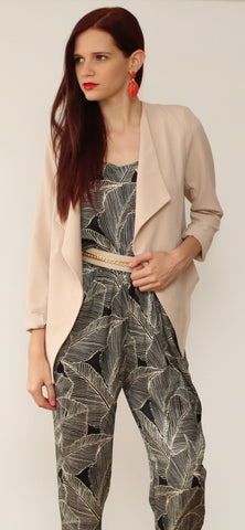Back to the Business of Fashion with Nude Blazer