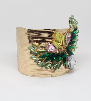 The Joy of Style Gold Cuff Bracelet