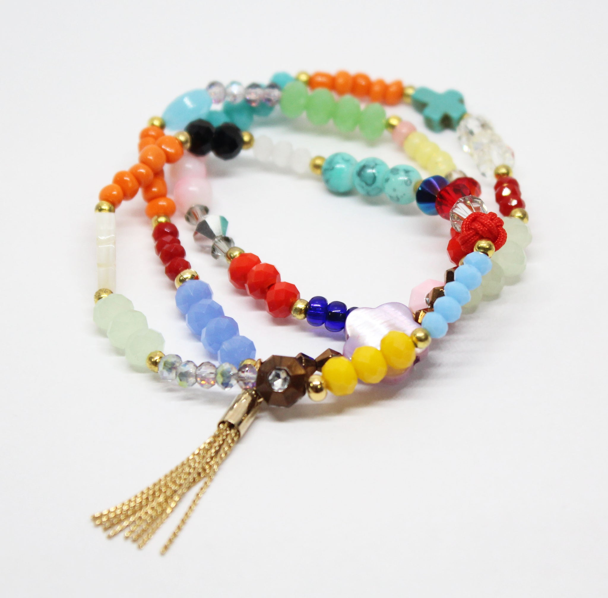 Dreams of Delight Colorful Bracelet Set