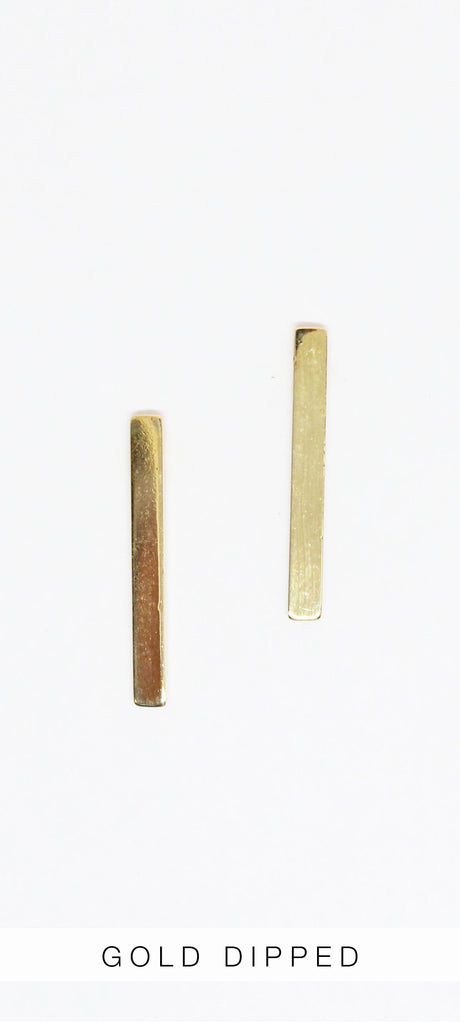 Realized Potencial Gold Earrings