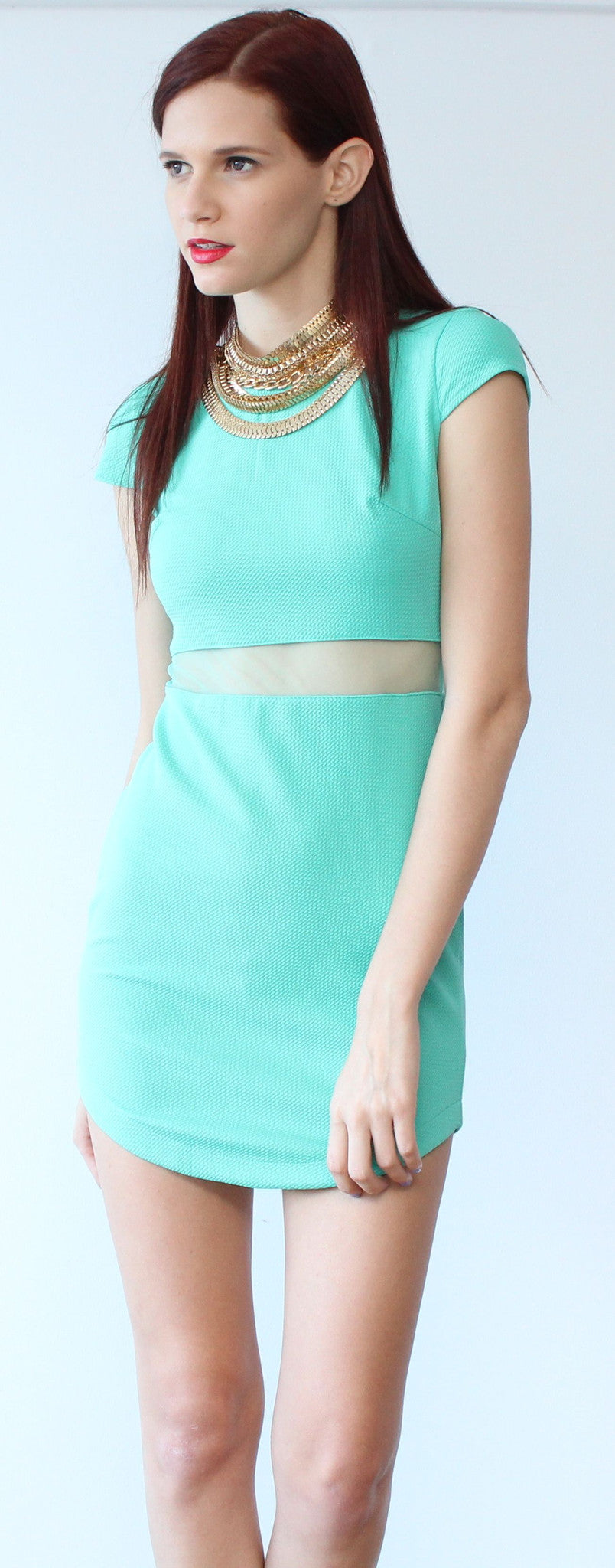 Perfect Situation with Mint Dress