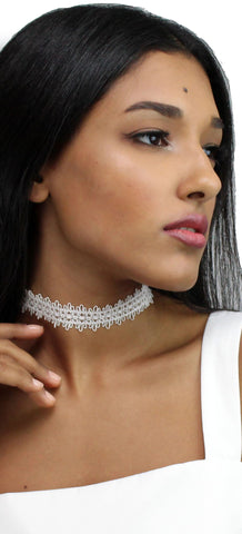 Easy Loving Lace Choker Necklace