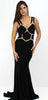 Stand in the Spotlight Black Formal Gown
