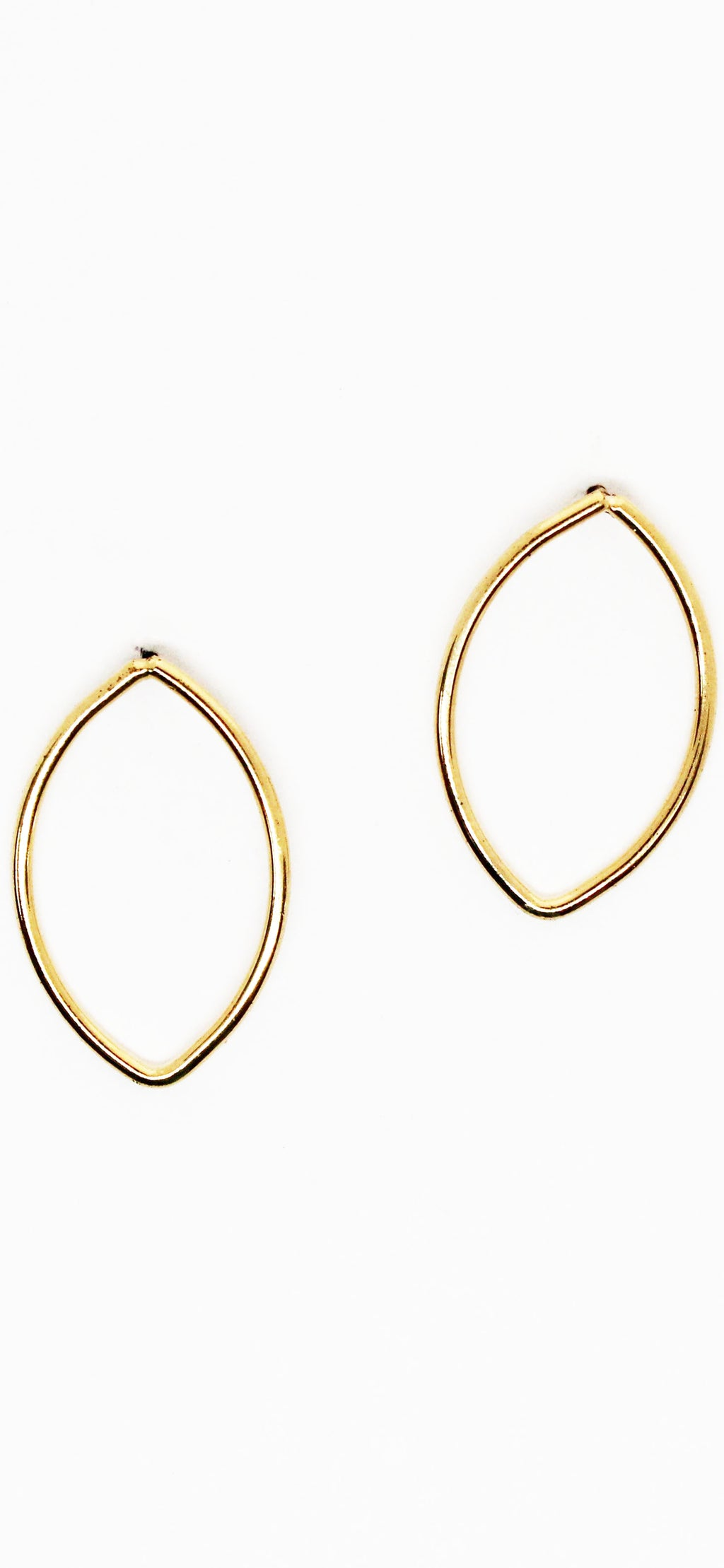 Tessellate Gold Dipped Earrings
