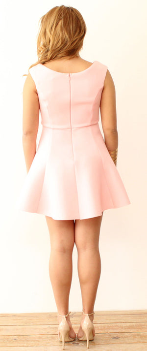 Like You Do Light Pink Dress