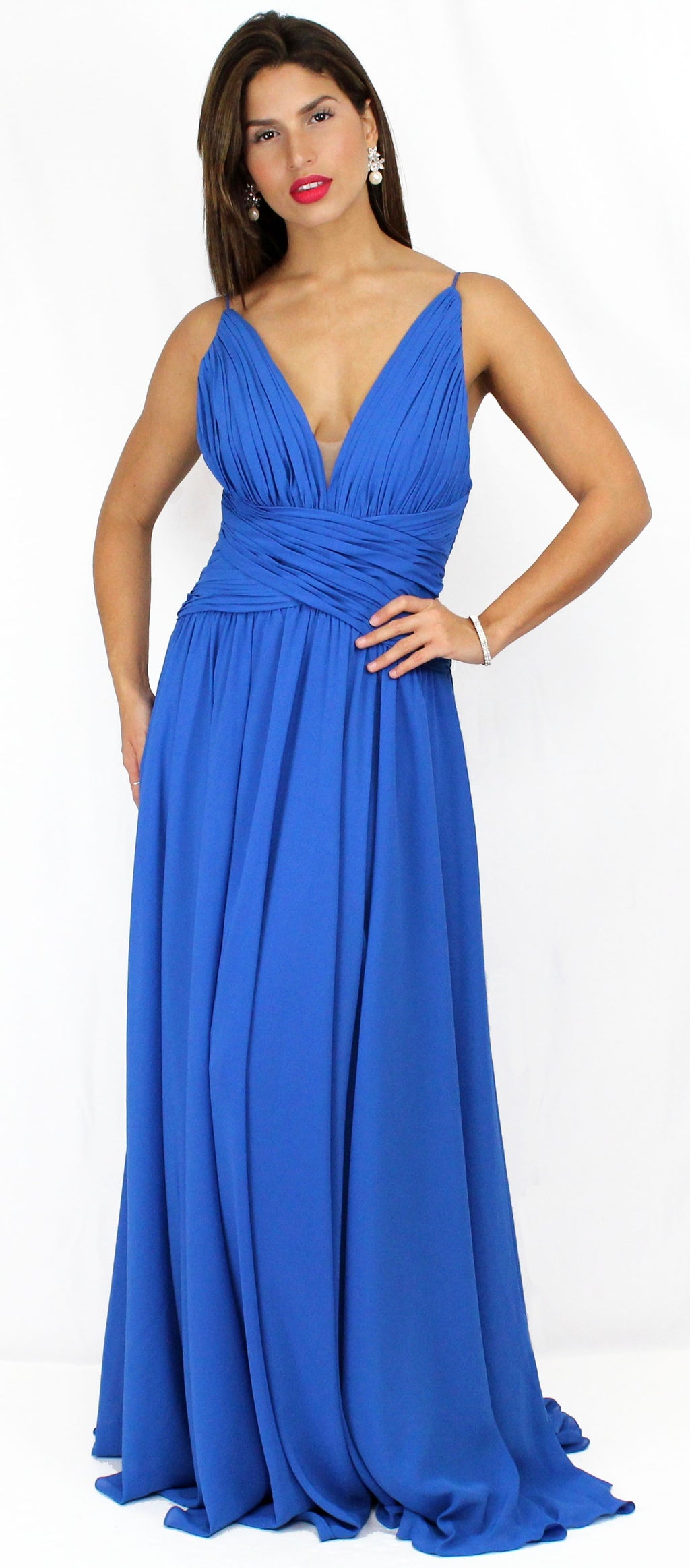 All About Love Royal Blue Formal Gown