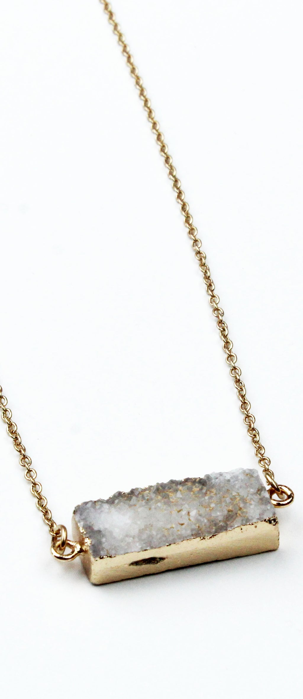 Run to You Gold Stone Necklace