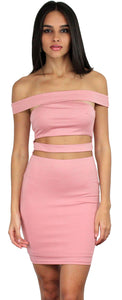 Heart's Content Rose Bodycon Dress