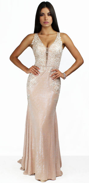 Forever & Lace Shimmer Mermaid Gown