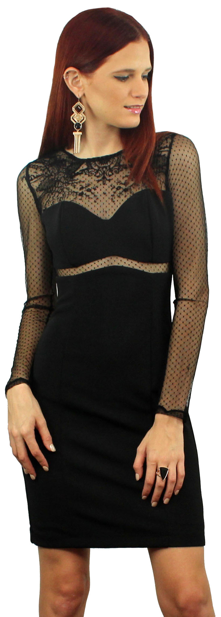 Myriad of Possibilities Black Dress