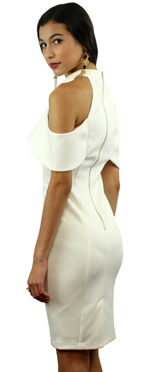 Irresistible Charms White Midi Dress