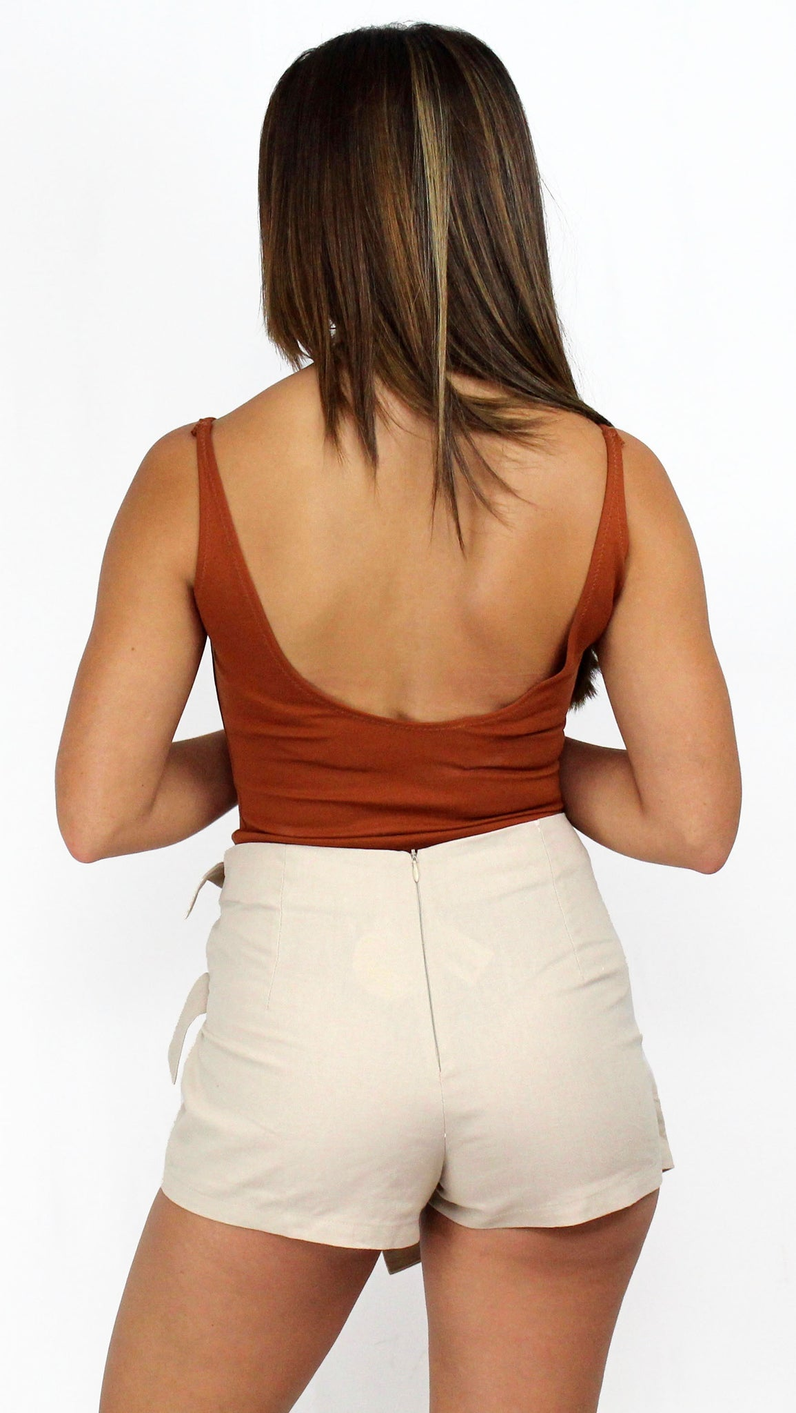 Shoreline High Waist Nude Skort
