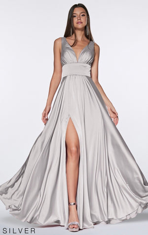 Kind and Loving Satin Bridesmaid Dress