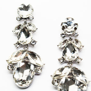 Realized Silver Stones Earrings