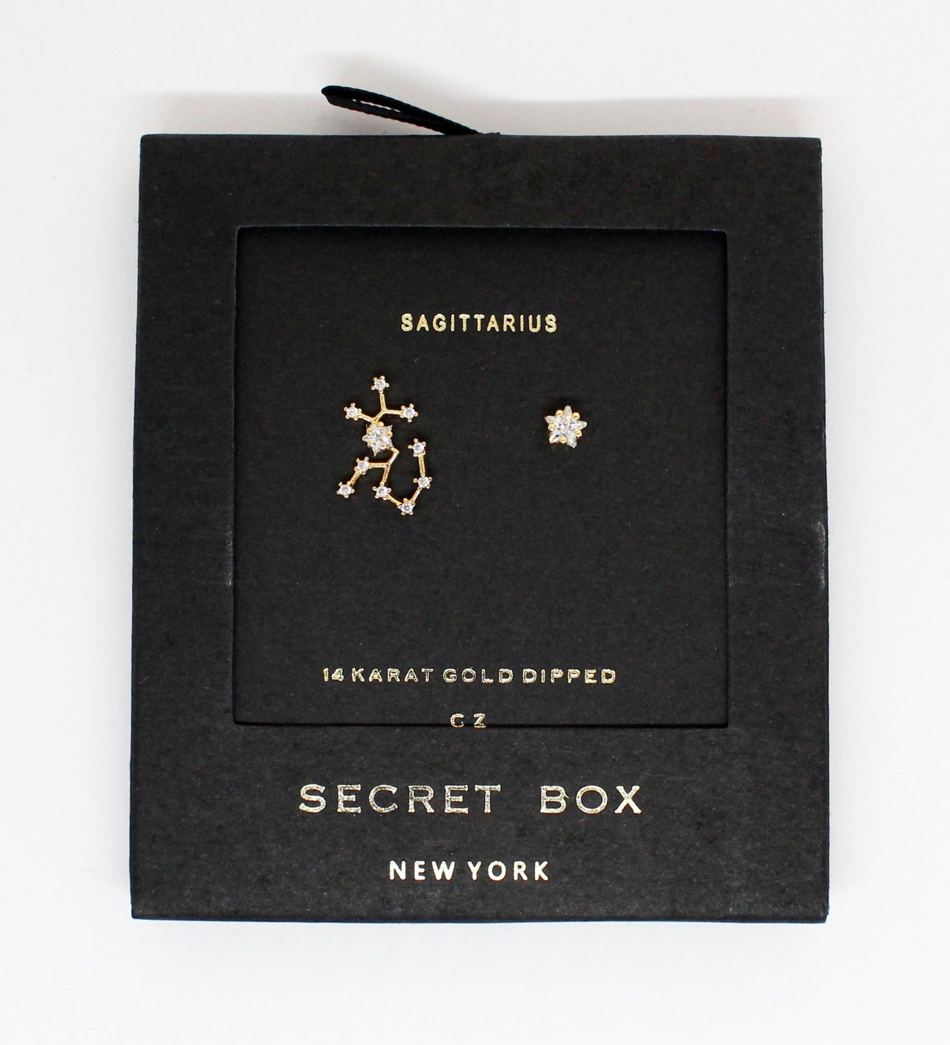 Horoscopes Secret Box Earrings