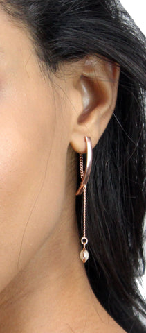 Beautiful Stranger Rose Gold Earrings