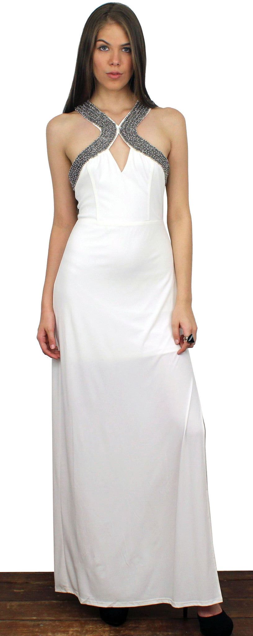 Making Memories White Maxi Dress
