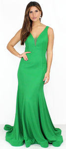 Fall in Love Emerald Mermaid Formal Gown