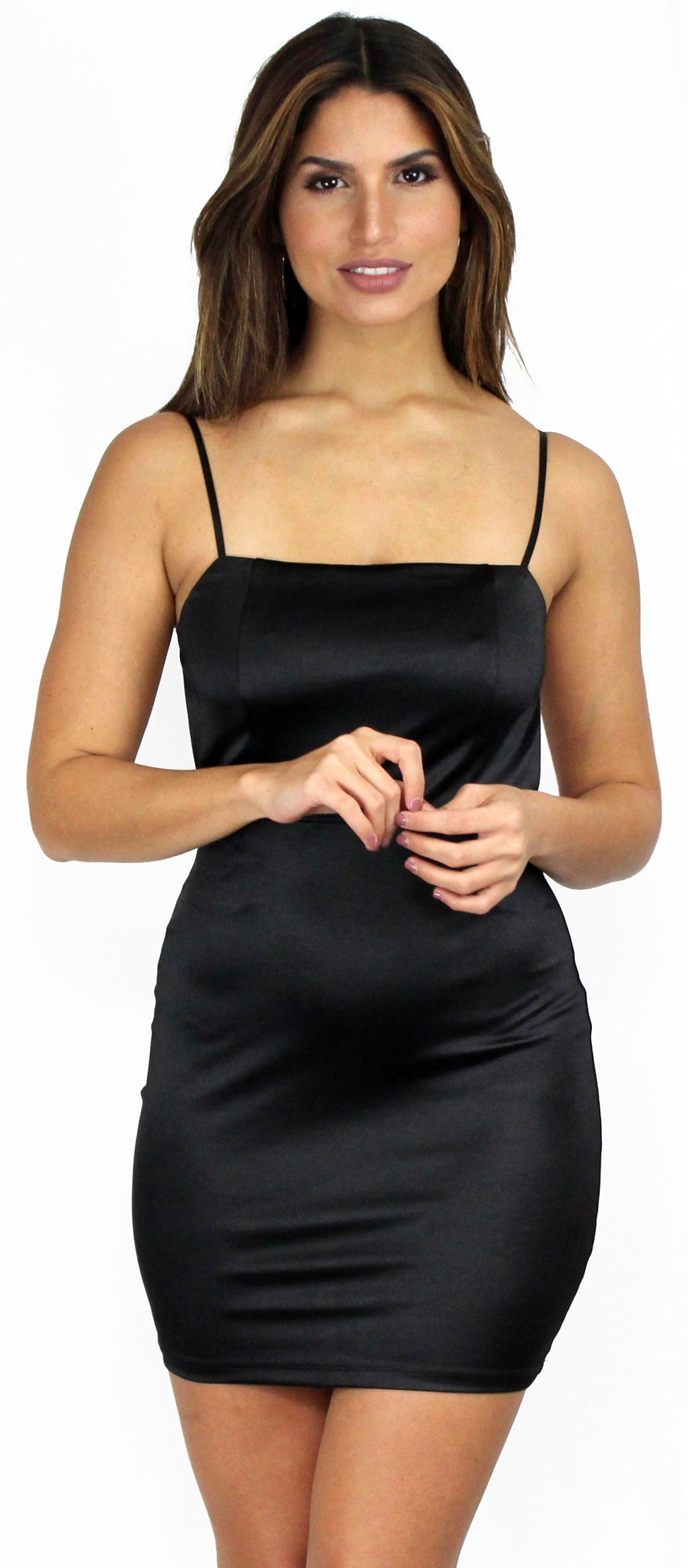 Last Night Backless Bodycon Mini Dress