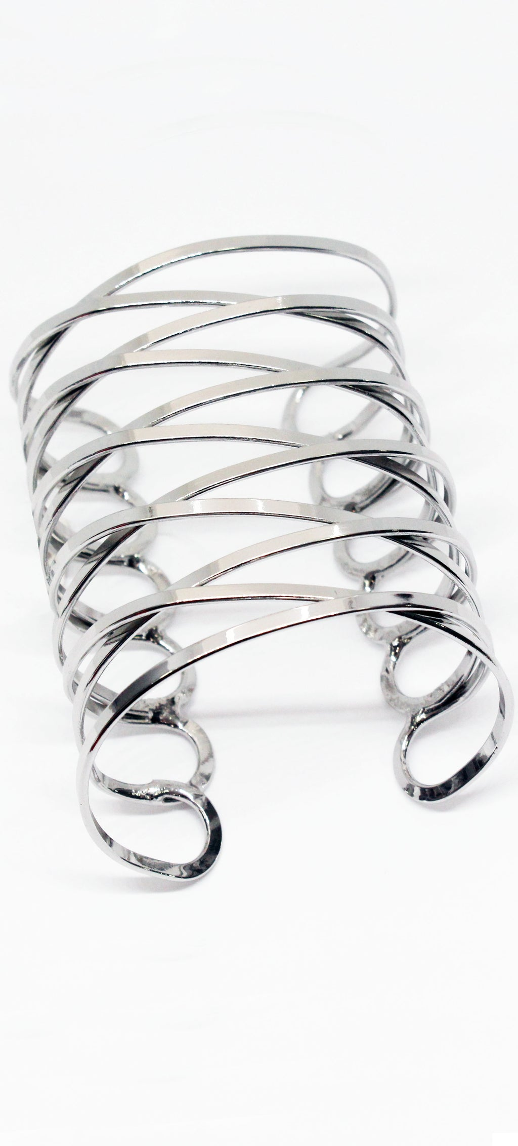 A Lot to Believe Metal Silver Cuff