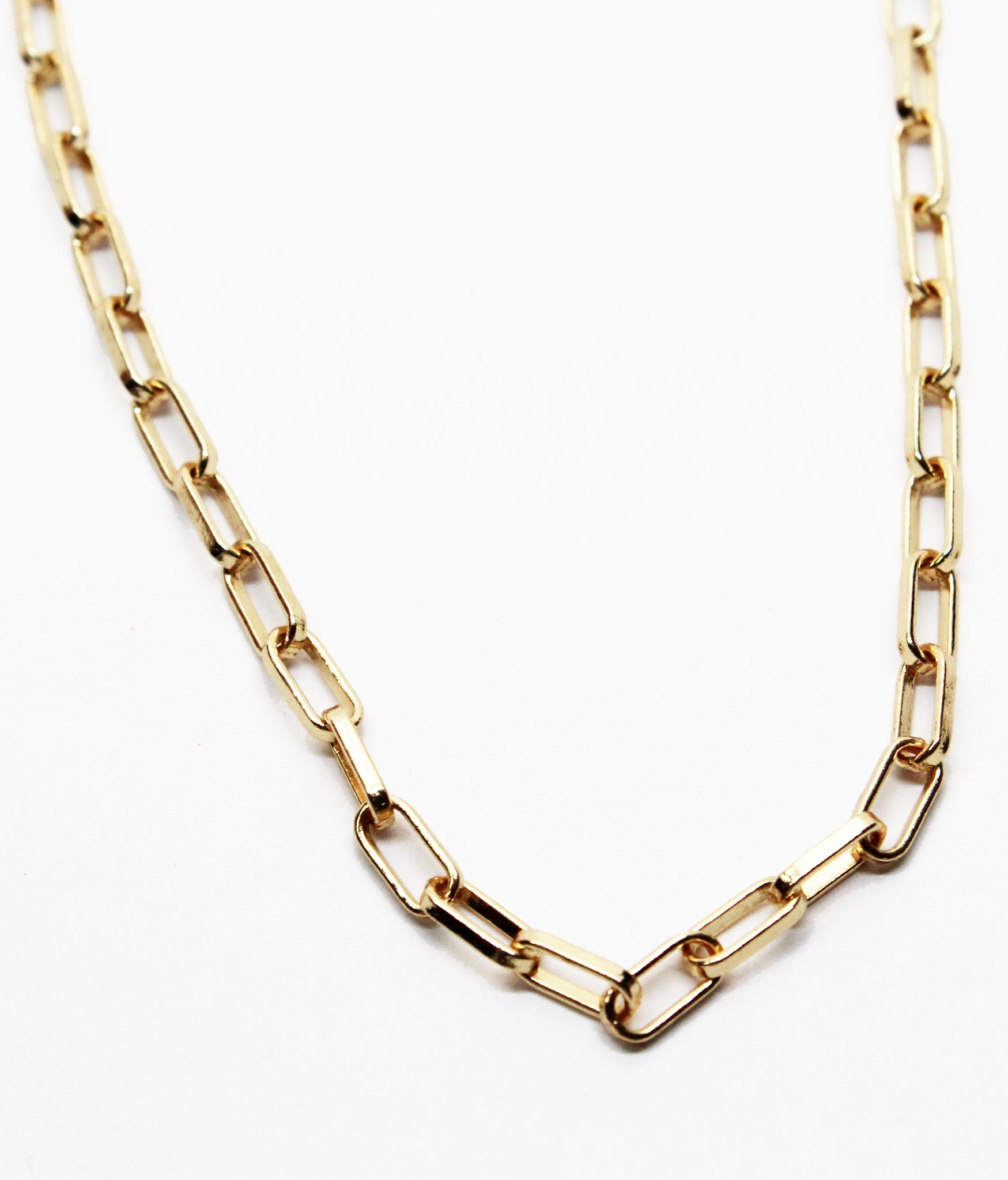 Star Style Gold Chain Choker Necklace