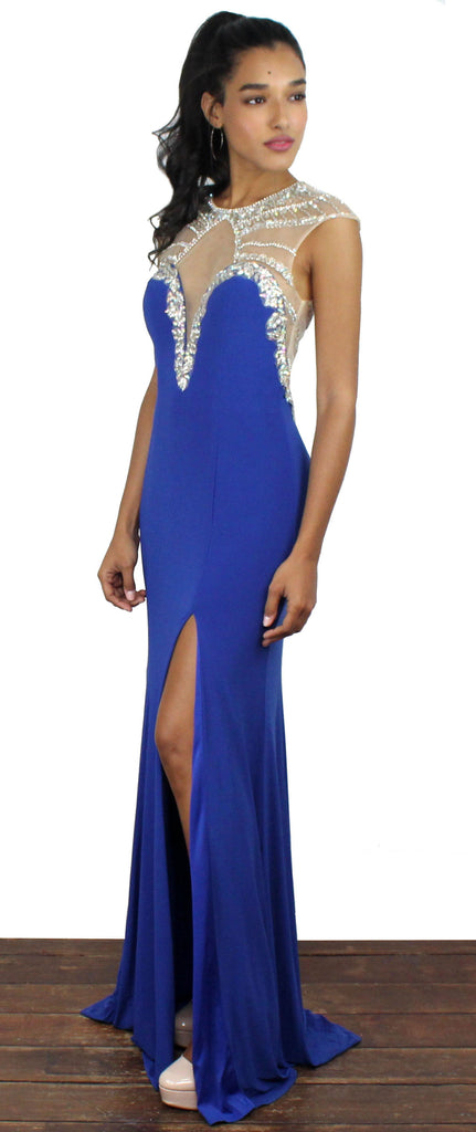 Hold On To Love Royal Blue Gown
