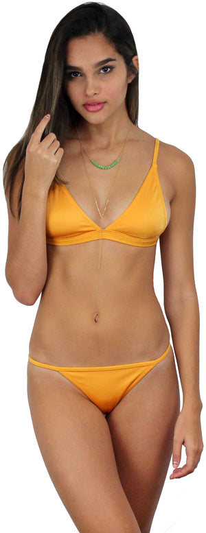 Happy Thought Mustard Bikini