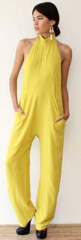 Picture Perfection Lime Jumpsuit
