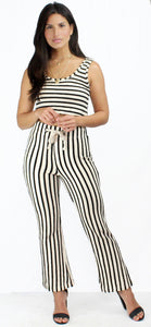 Style Bonus Stripes Knit Two-Piece Set