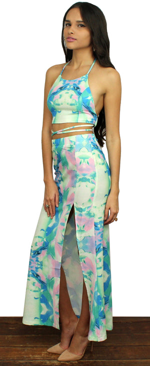 Be Mine Water Colour Two-Piece Print Set